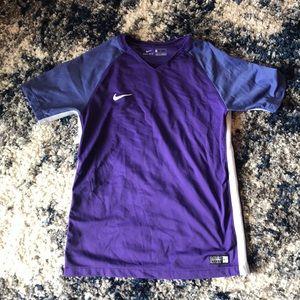 Boys Nike Dri-Fit soccer shirt